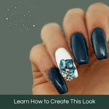 fragrant gladiolus tutorial u2013 mitty nail art tools u0026 brushes