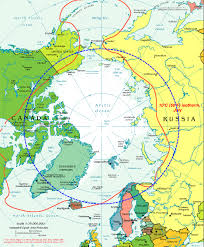 European Countries Map Arctic Circle Map U0026 7 Countries With Arctic Territory Russia