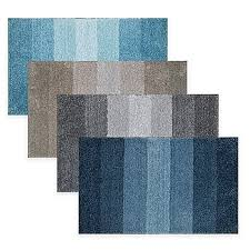 Ombre Bath Rug Adelaide Ombré Striped Bath Mat Bed Bath Beyond