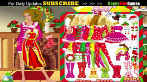 barbie games barbie christmas doll game play barbie games
