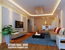 Home Design For Living Suspended Ceiling Pop Design Lighting For Living Room Interior