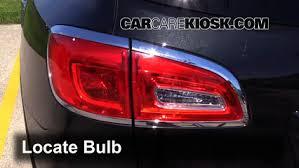Tail Light Out Tail Light Change 2013 2016 Buick Enclave 2013 Buick Enclave 3 6l V6