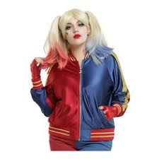 Joker Costume Halloween Detailing Property Joker Jacket Harley Quinn Costume
