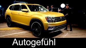atlas volkswagen interior all new vw suv volkswagen atlas world premiere teramont exterior