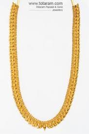 22k gold necklace temple jewellery totaram jewelers buy