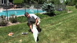 how to check slope on your back yard ice rink nicerink youtube