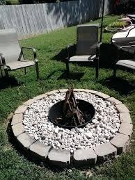 How To Make A Firepit Out Of Bricks Drum Pit Jackiewalker Me