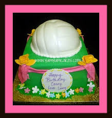 57 best my fav birthday cakes images on pinterest volleyball