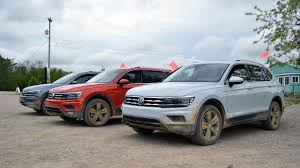 volkswagen tiguan 2018 volkswagen tiguan goes off road with new engine