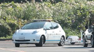 nissan leaf b mode nissan introduces driverless towing system at oppama plant