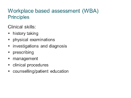 Counselling At Workplace Ppt Wa Health Workplace Based Assessment Supervision And Assessment