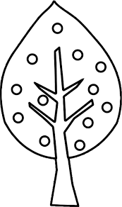full apple tree coloring page wecoloringpage