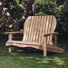 shop all things cedar tan cedar patio adirondack chair at lowes com