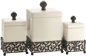 Rustic Kitchen Canister Sets - creative fresh ceramic kitchen canisters ceramic canisters set of