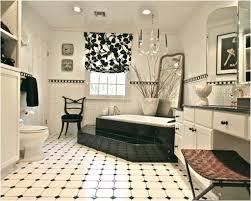 Black Tile Bathroom Ideas Timeless Black And White Master Bathroom Makeover Bathroom Ideas