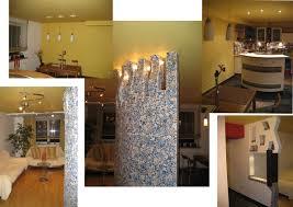 residential interior 2 bedroom flat decorative column bespoke residential interior design