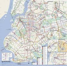 Kbcc Map Mta Brooklyn Bus Map Mta Bus Map Brooklyn New York Usa
