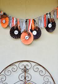 halloween rag tassel garland free printable slightly coastal