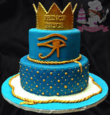 egyptian prince baby shower cake so cute it u0027s a