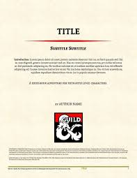 Libreoffice Resume Template Adventure Template For Openoffice Libreoffice Dungeon Masters