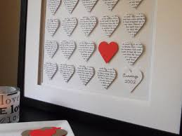 paper anniversary gift ideas for wedding gift awesome paper wedding anniversary gifts for