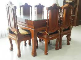 Teak Dining Room Furniture by Classifieds Solid Teak Dining Room Table And Chairs And Set