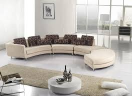 sofa overwhelming sofa with plush upholstery and earthy color unique sectional sofas full size of sofa breathtaking half pipe with cream tone brown pillows and stools backless end