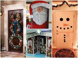 Door Decorations For Winter - 23 cute winter holiday door decor ideas find fun art projects to