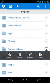dropbox app for android dropbox for android updated to v2 2 2 finally brings the ability