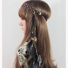 hippy headband fashion weave bohemian headband american braided headband