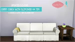 ajoya u0027s simblr u2022 18 comfy couch with slipcovers for ts4update