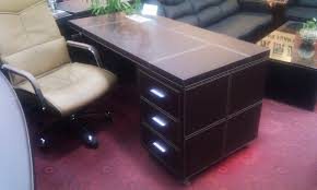 Leather Office Desk Office Desk Office Chairs Mcwood Office Furniture Melbourne