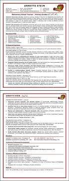 exles of excellent resumes free resume templates elementary template intended for