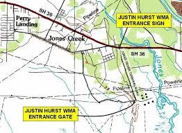 hurst map friends of brazoria wildlife refuges