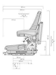 siege grammer msg65 522 grammer primo forklift seat best prices
