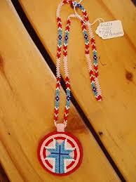 beaded medallion necklace images Regalia on sale indian art oklahoma jpg