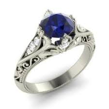 sapphire engagement rings sapphire engagement rings for september birthstone