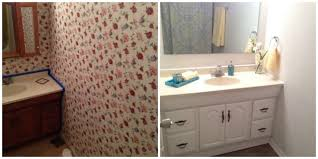 Bathroom Makeovers Before And After Pictures - diy bathroom makeover live life active fitness blog