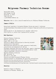 Pharmacy Resume Examples by Pharmacy Technician Letter Ekg Tech Job Ekg Monitor Technician