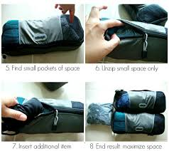 how to use packing cubes 8 step strategy to travel carry on only