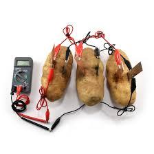 potato battery how to turn produce into veggie power