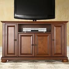 Crosley Furniture Bar Cabinet Crosley Alexandria 48 In Corner Tv Stand Vintage Mahogany