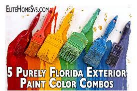 5 purely florida exterior paint color combos palm harbor house