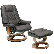 leather recliner chair with ottoman reclining chair and ottoman