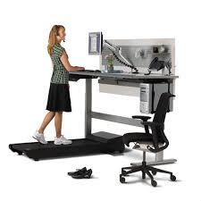 Computer Desk Treadmill Sit To Walkstation Treadmill Desk Sit Stand Or Walk The