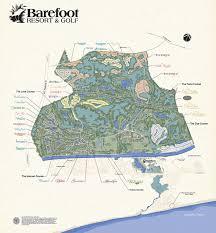 ideal resort map barefoot resort community barefoot resort and golfbarefoot