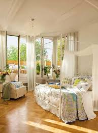 Green And Blue Bedrooms - white bedroom decorating ideas vintage furniture and colorful