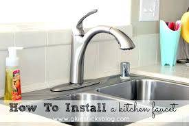 how to remove an kitchen faucet removing a kitchen faucet setbi club