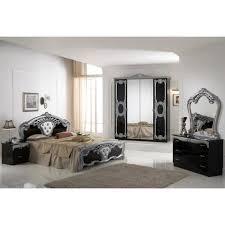chambre laque noir chambre a coucher cristina laque noir et argent achat vente