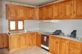 meuble cuisine en pin meuble cuisine en pin pas cher images avec meuble cuisine de en pin